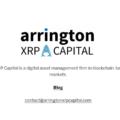 テッククランチの創設者が仮想通貨ヘッジファンドの「アーリントン XRP キャピタル」を発表